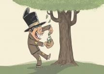 penge vokser ikke på træerne